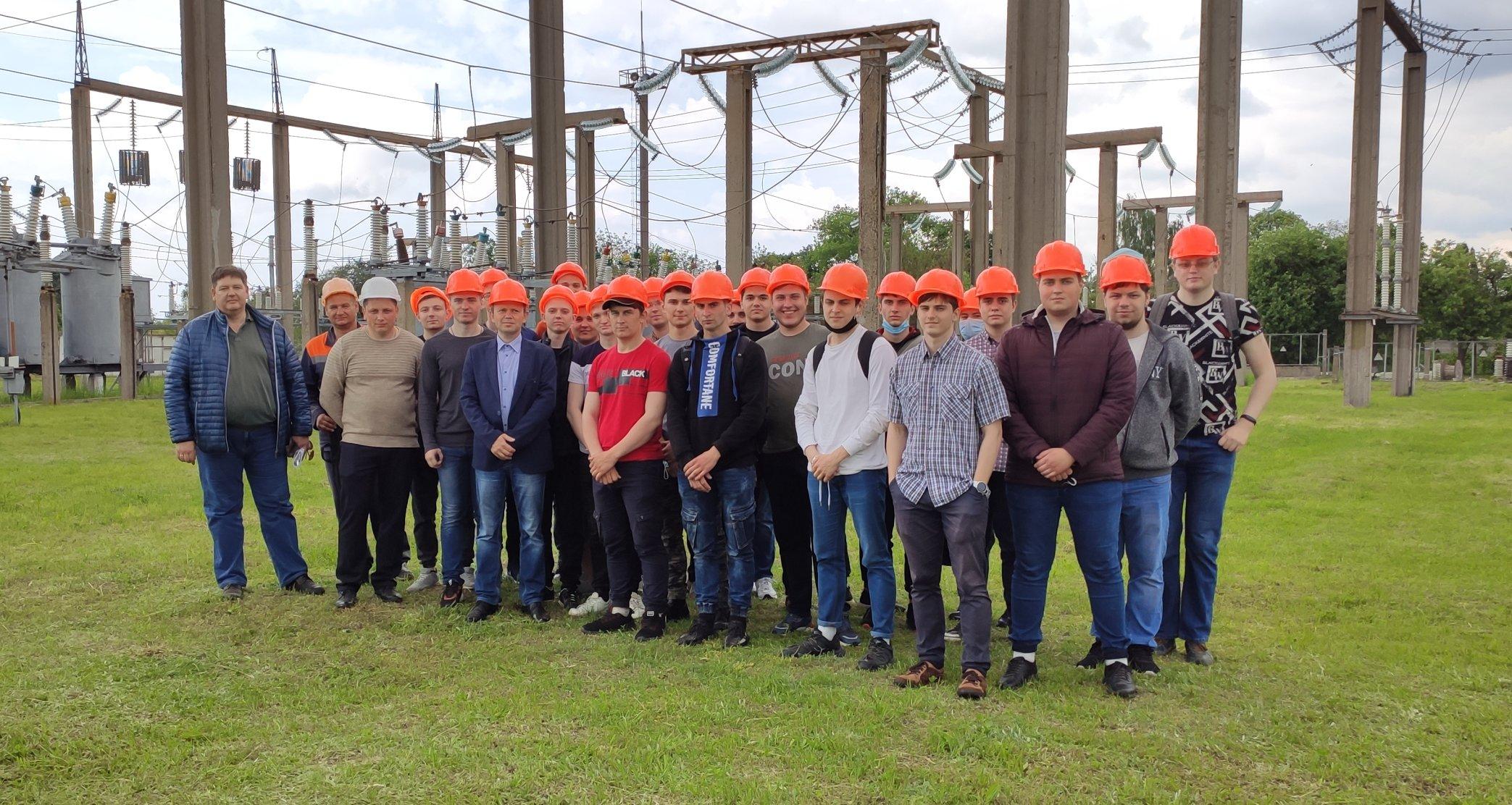 Студенти спеціальності 141 «Електроенергетика, електротехніка та електромеханіка» НУ «Чернігівська політехніка» відвідали підстанцію 110/35/10кВ «Прилуки»